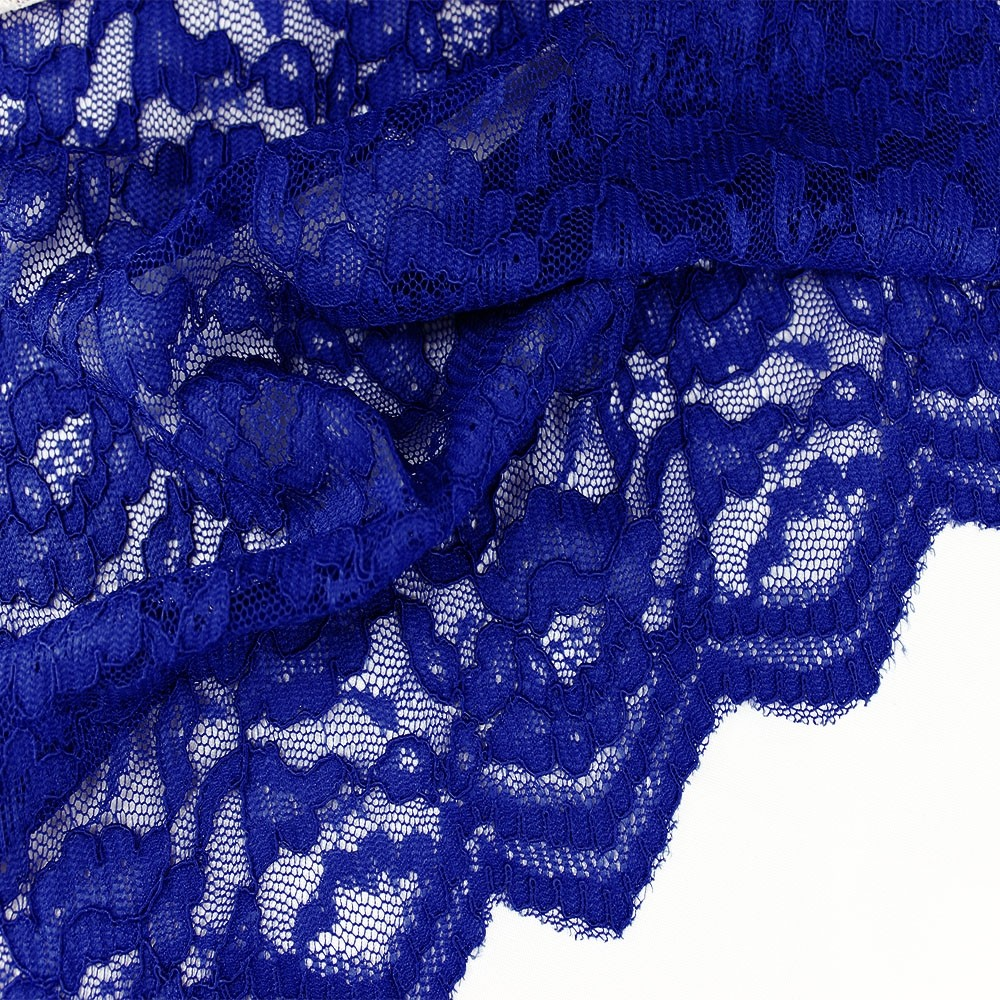 Corded Lace Cobalt