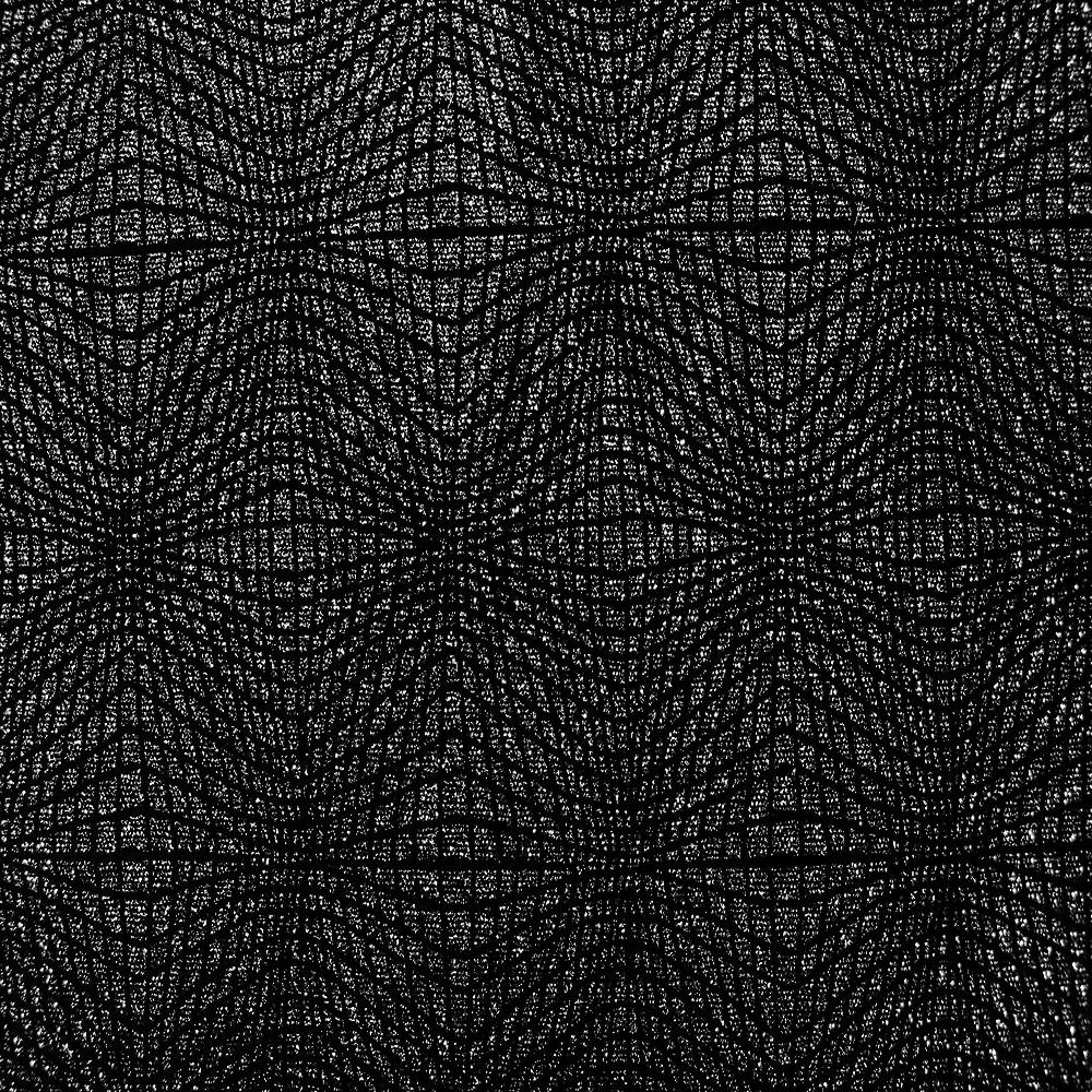 Span Velvet Black Silver
