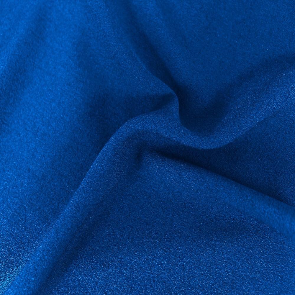 Athena Crepe Electric Blue