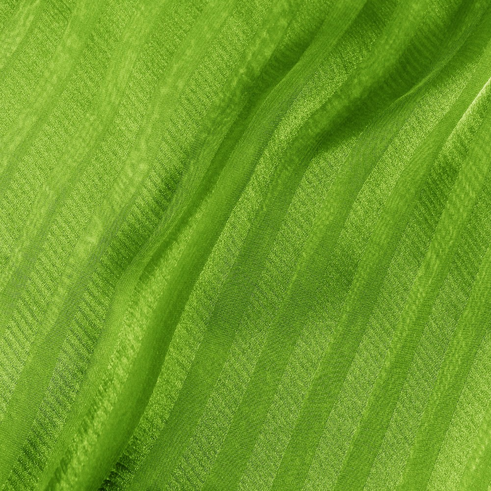 Striped Chiffon Jacquard Lime