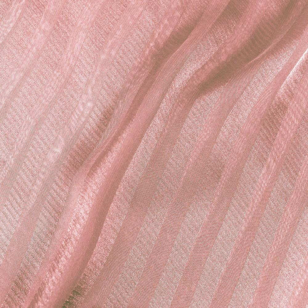 Striped Chiffon Jacquard Oyster