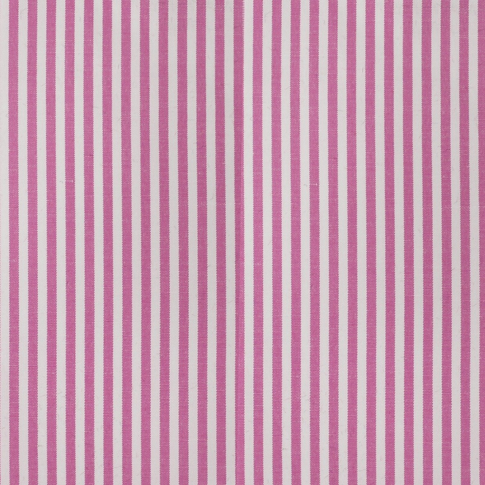 Cotton Poplin Medium Stripe Pink