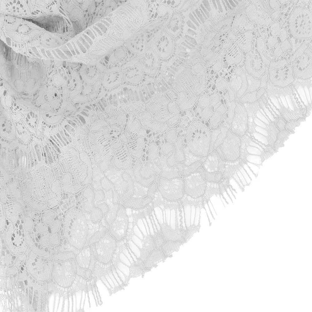 Eyelash Lace Ivory