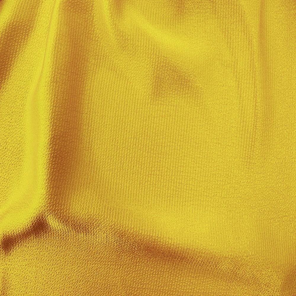 Heavy Bubble Satin Yellow