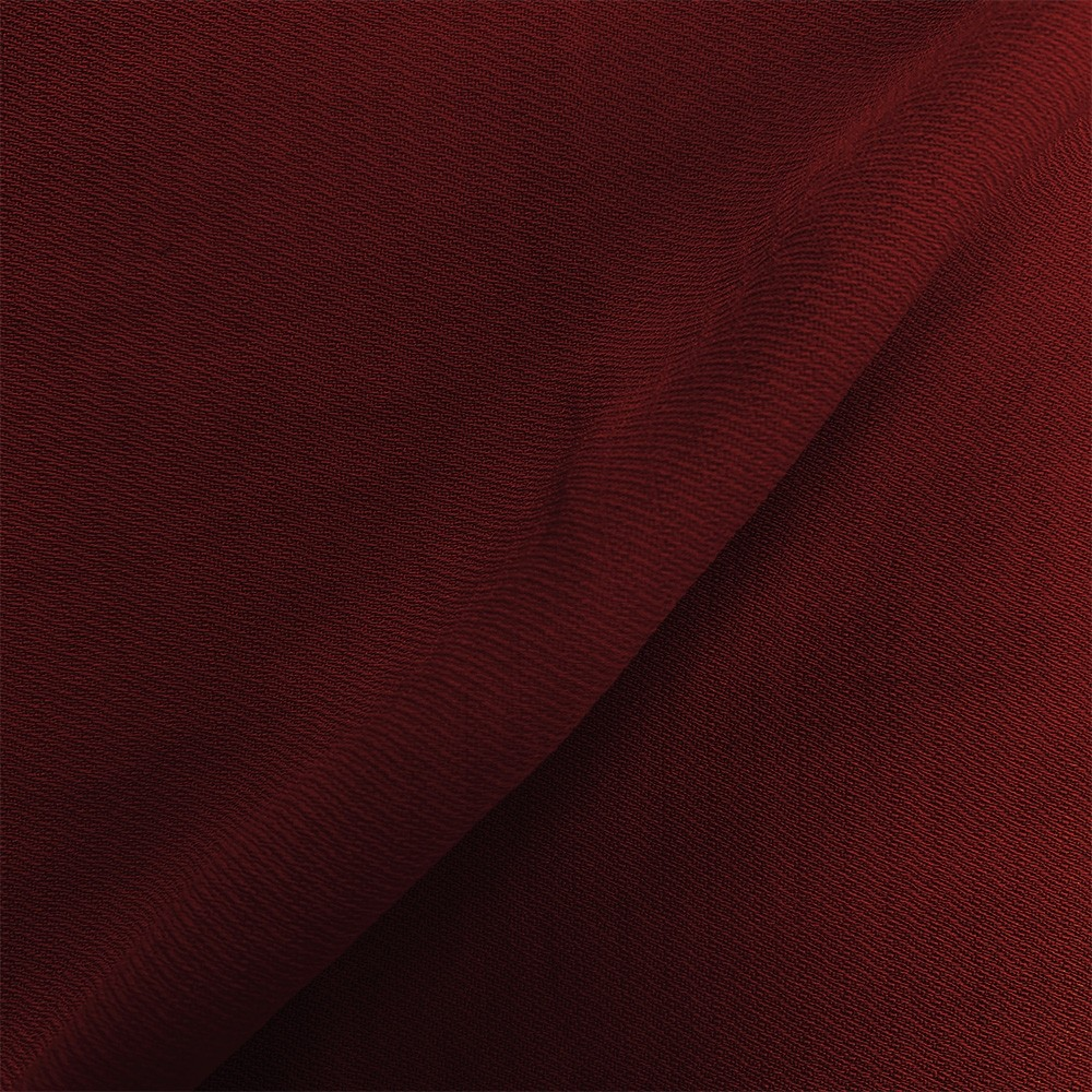 Linen Look Twill Burgundy