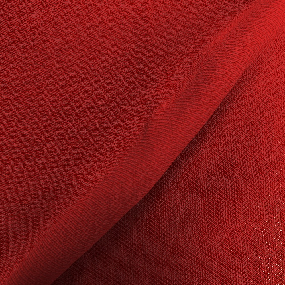 Linen Look Twill Red