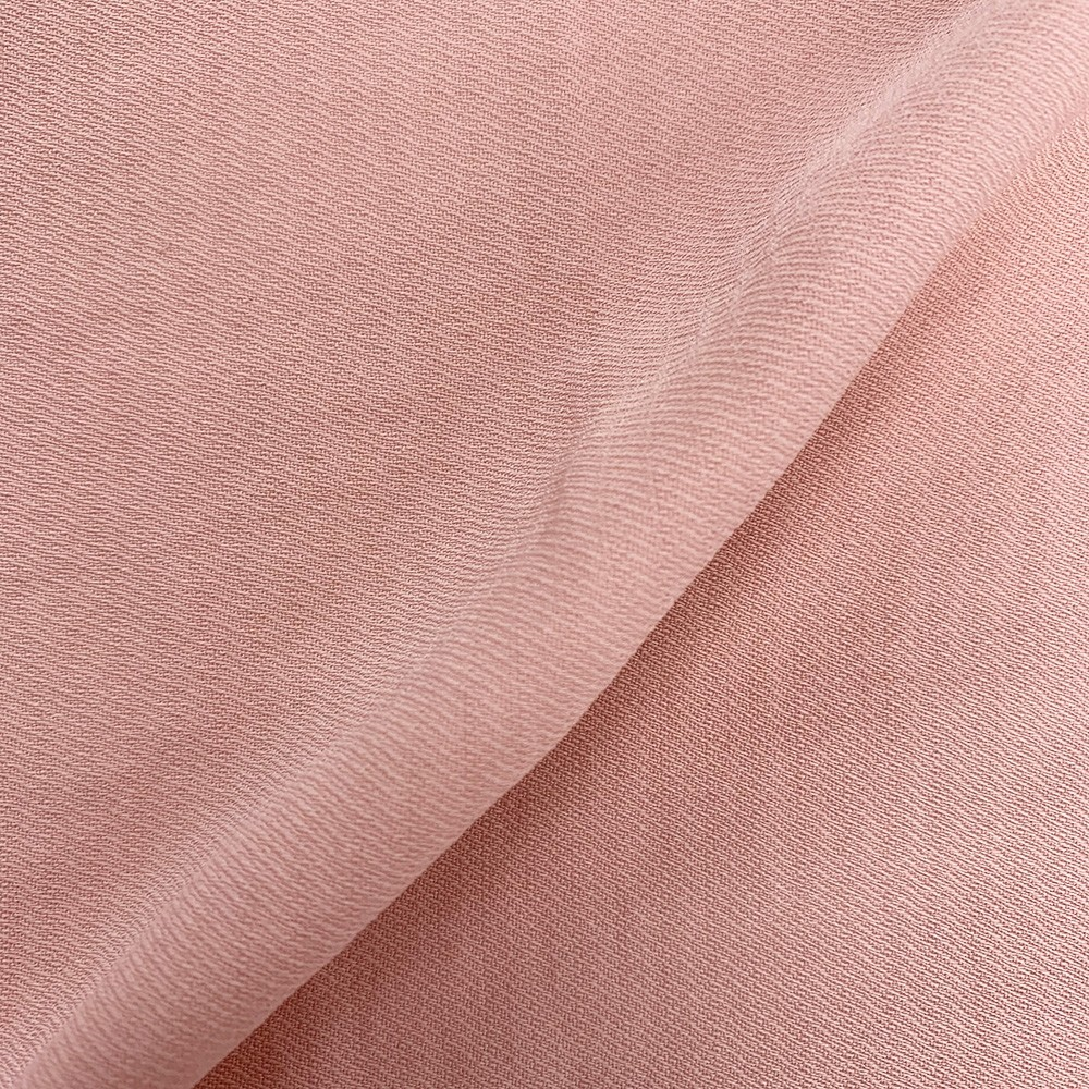 Linen Look Twill Silver Pink