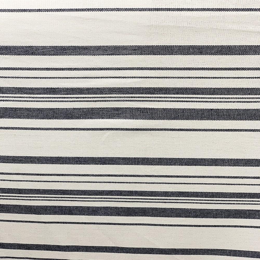 Linen Rayon Stripes Blue