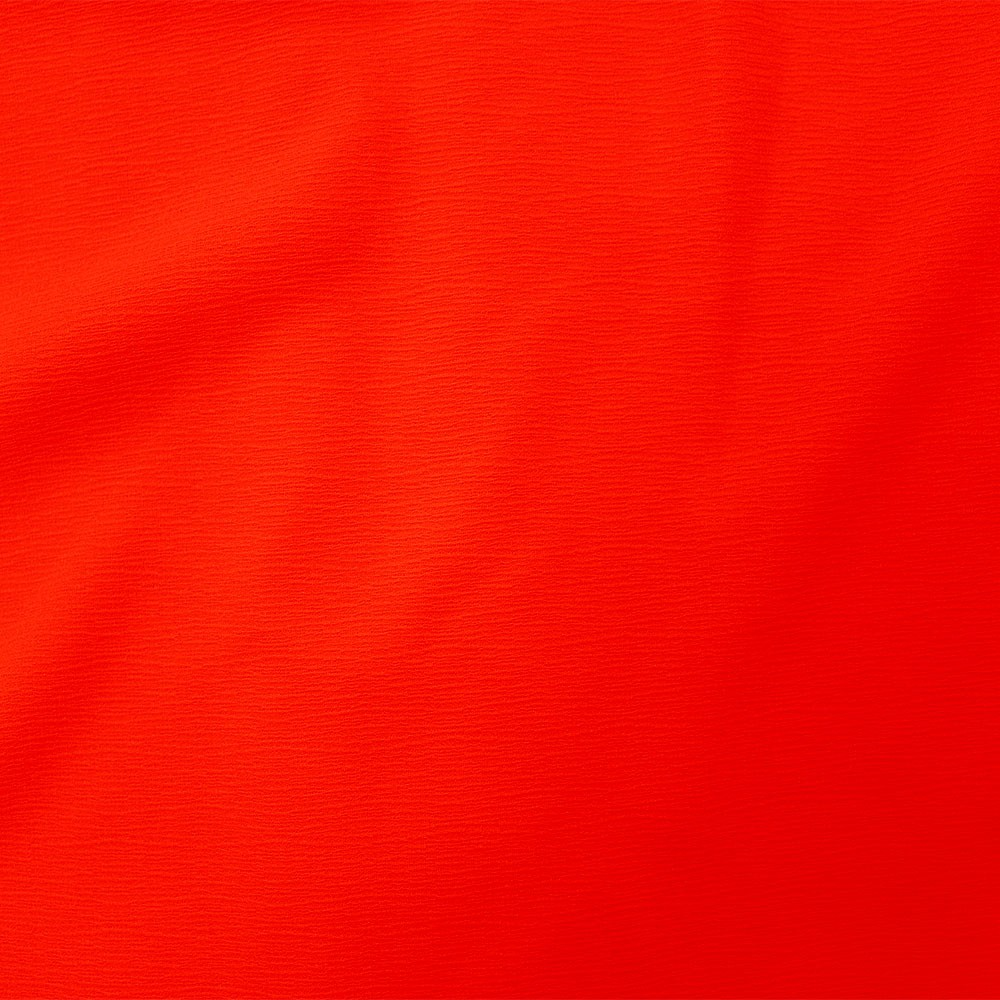 Posh Crinkle Fiery Red