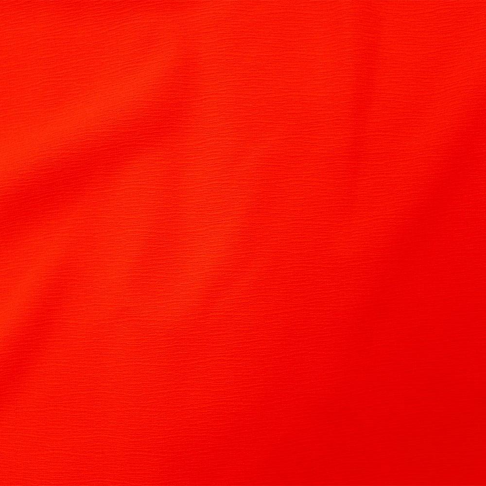 Posh Crinkle Fiery Red