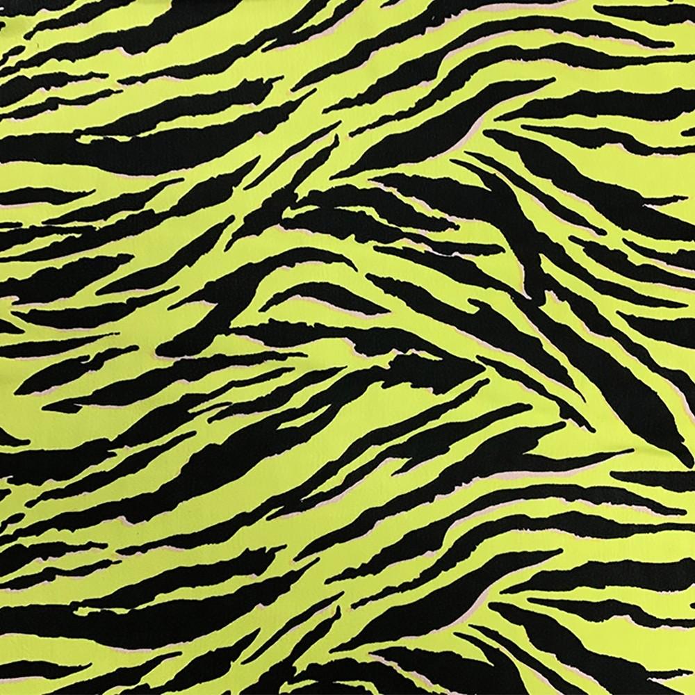 Sabrina Zebra Neon Lime Ground