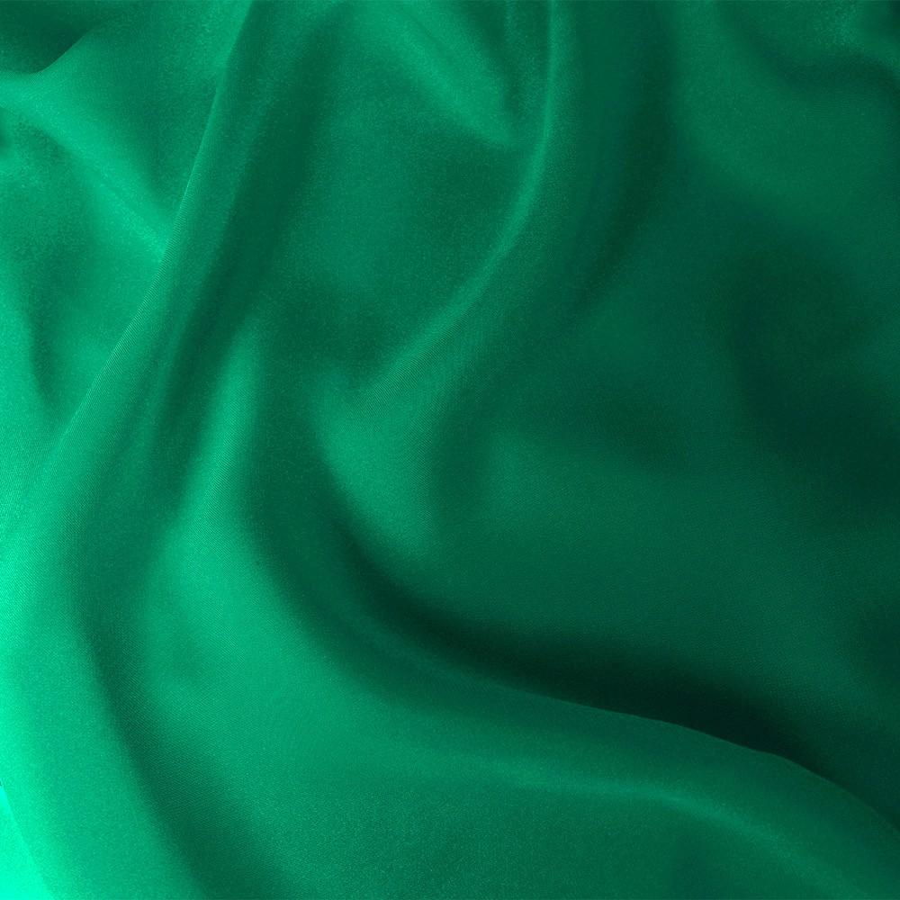 Satin Chiffon Green