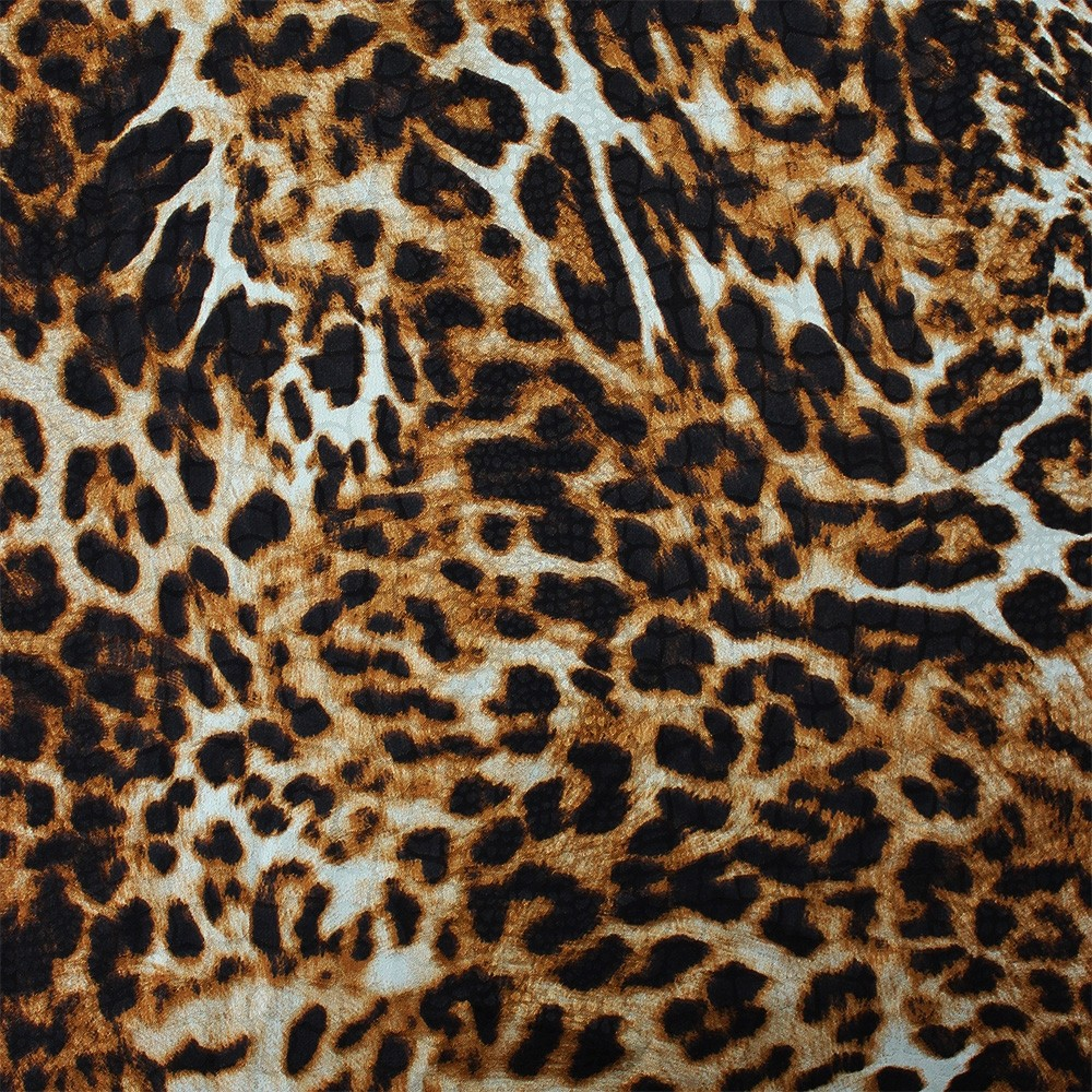 Satin Jacquard Animal Print CZ-057
