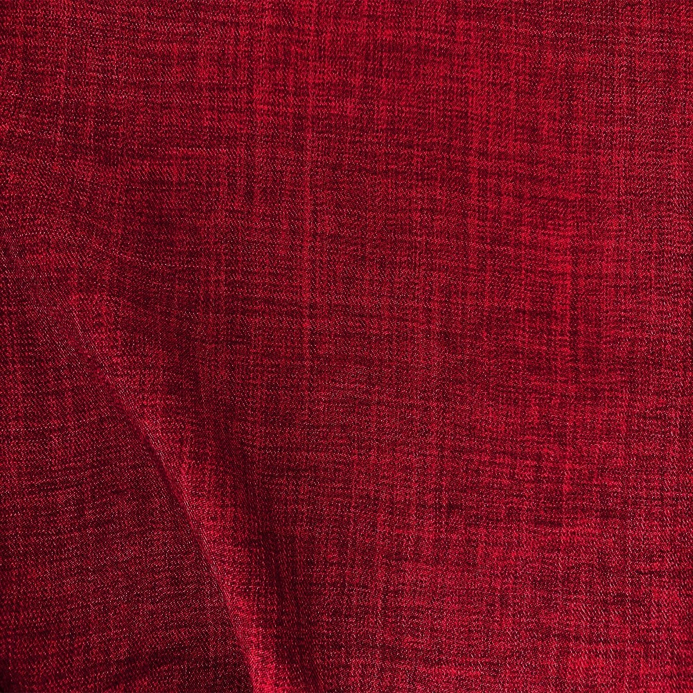 Scratch Linen Look Oxblood