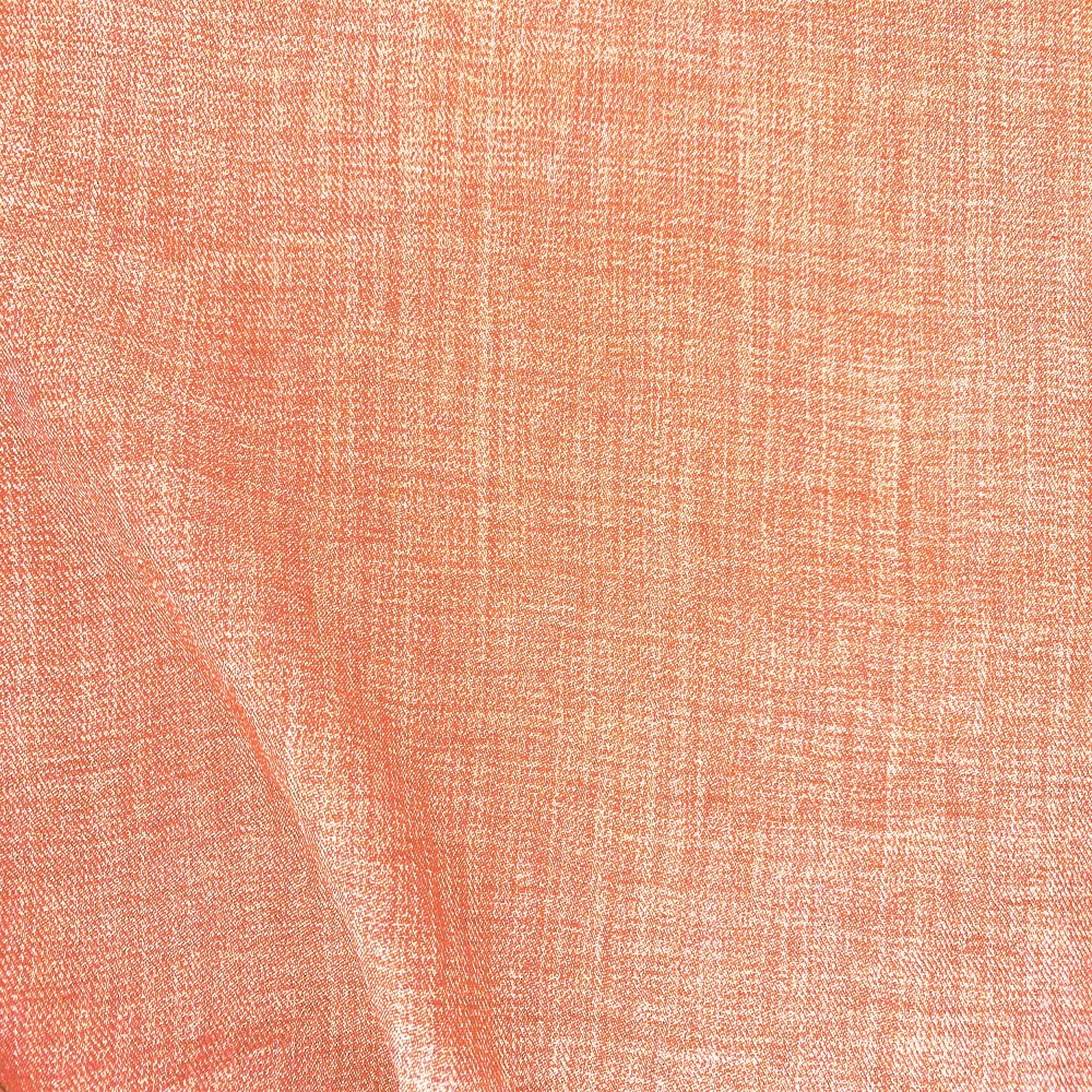 Scratch Linen Look Salmon