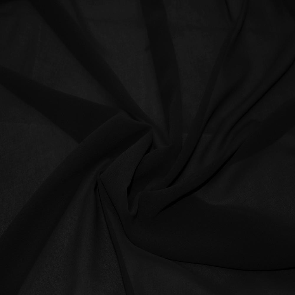 Silky Chiffon Black