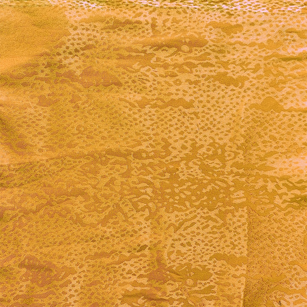 Snake Satin Jacquard Gold