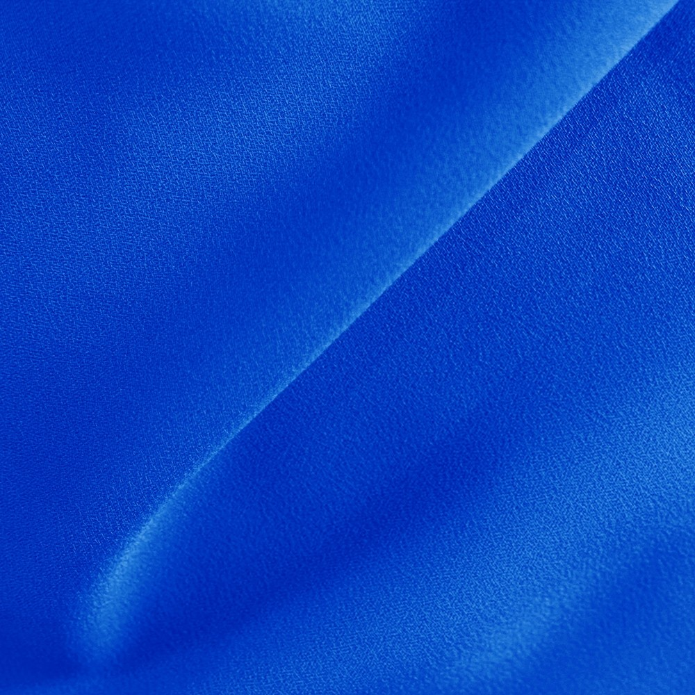 Superior Georgette Airflow Electric Blue