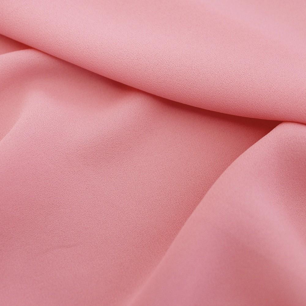 Superior Georgette Flamingo
