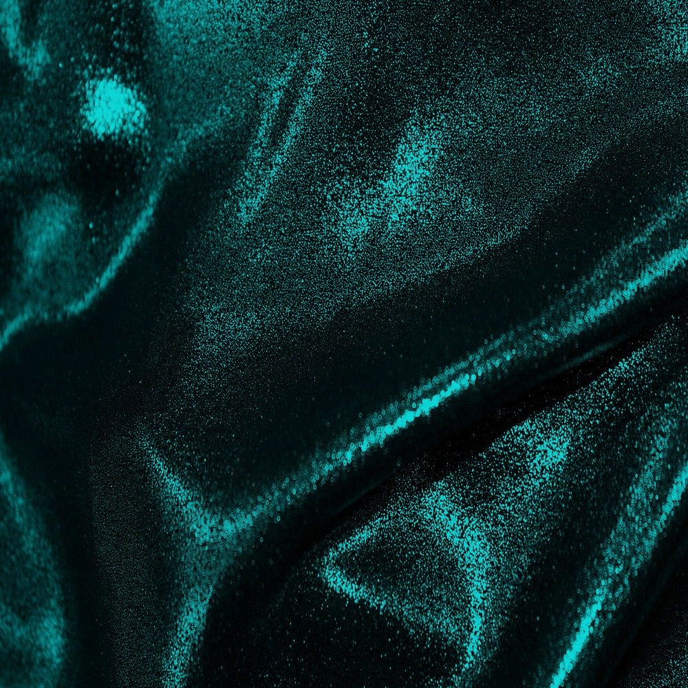 Superior Georgette Foil Black Teal