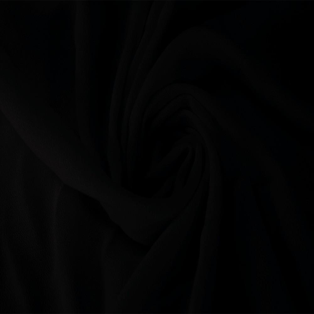 Viscose Crepe Black