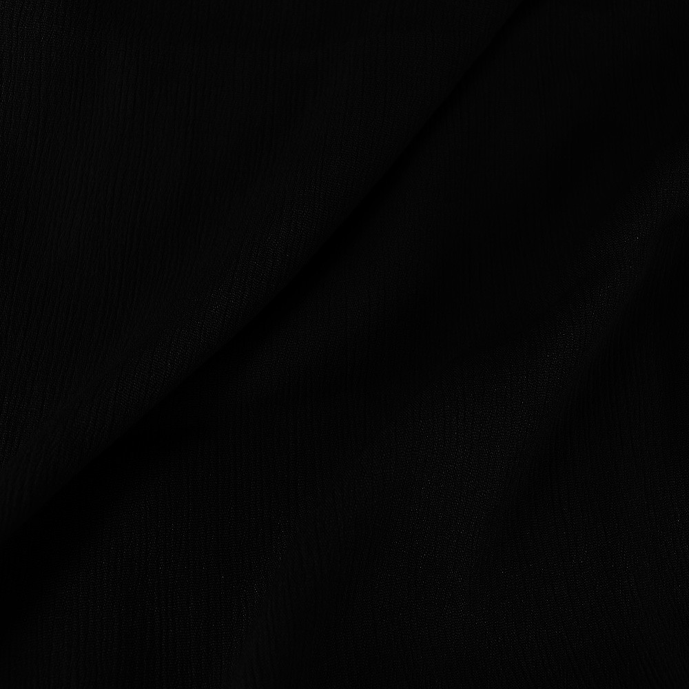 Viscose Crinkle Black