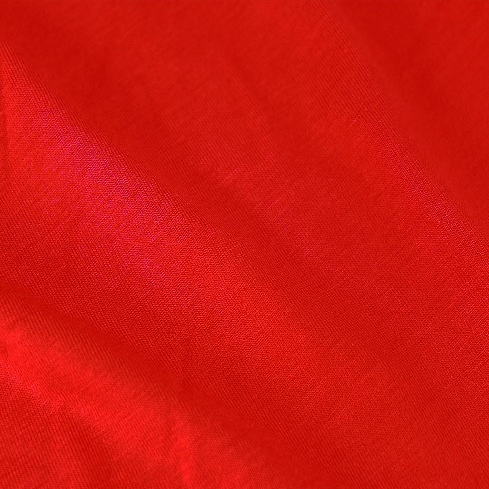 Viscose Elastane Fiery Red