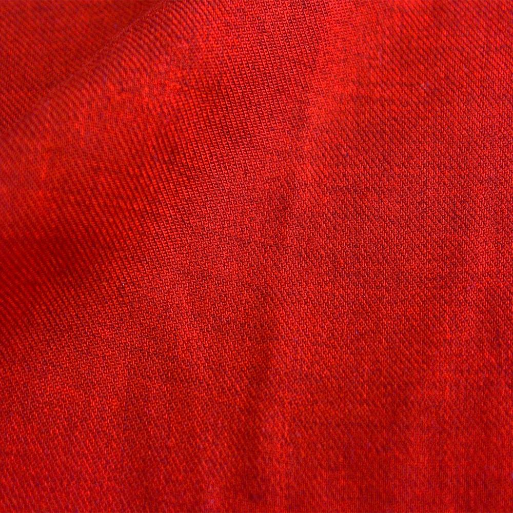 Viscose Melange Red