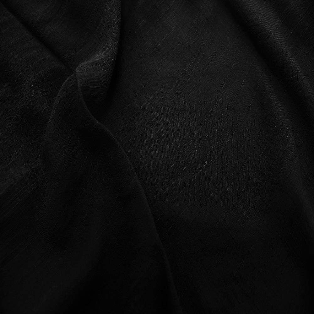 Viscose T/R Slub Black