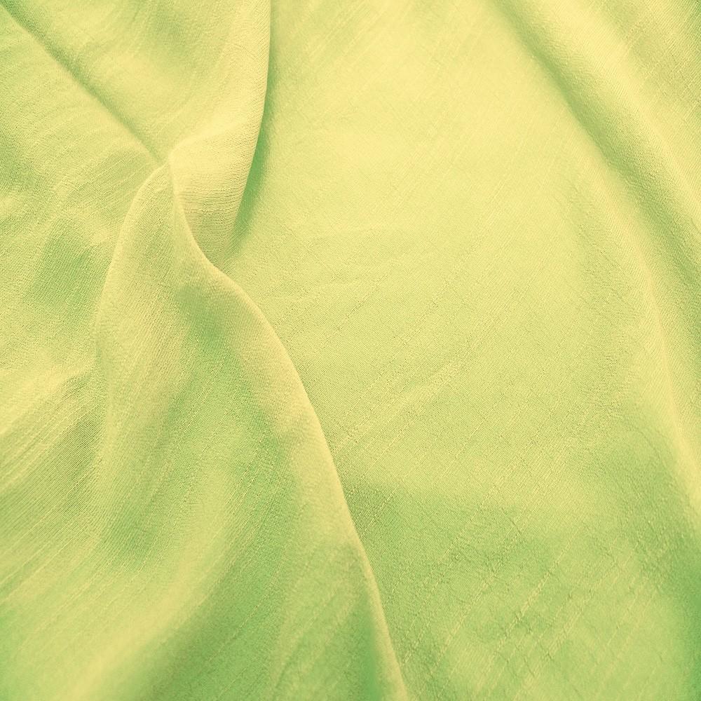Viscose T/R Slub Lime Cream