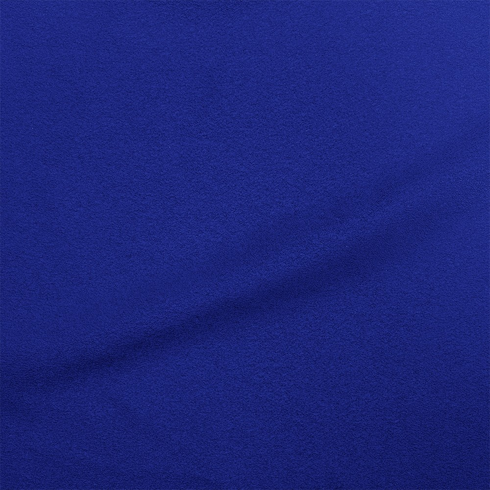 Washer Crepe Royal Blue