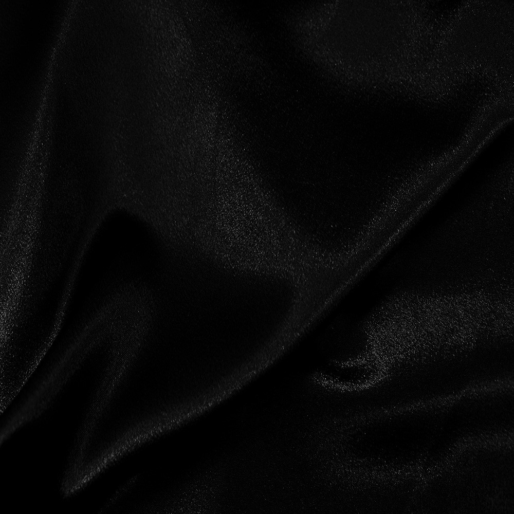 Washer Satin Back Crepe Black