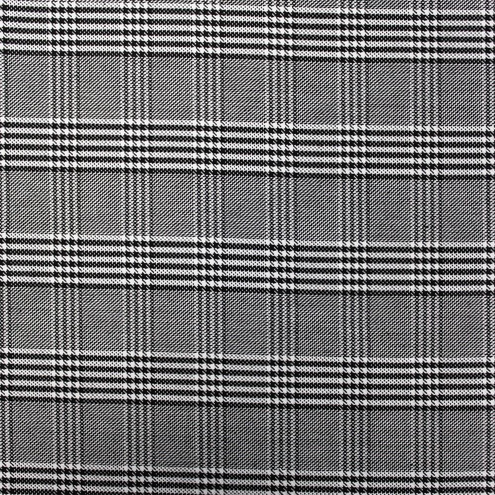 Woven Check NS-2000A D#6 Black White