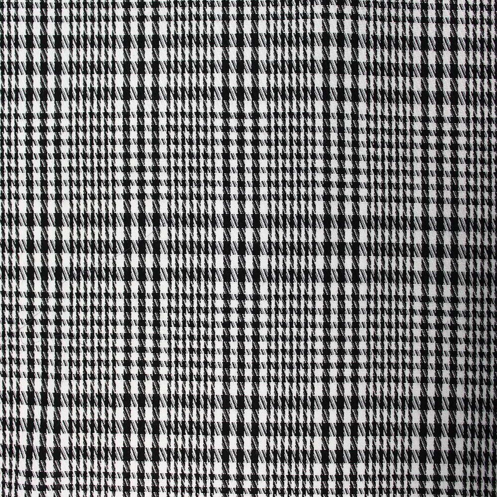 Woven Check NS-2000A D#5 Black White