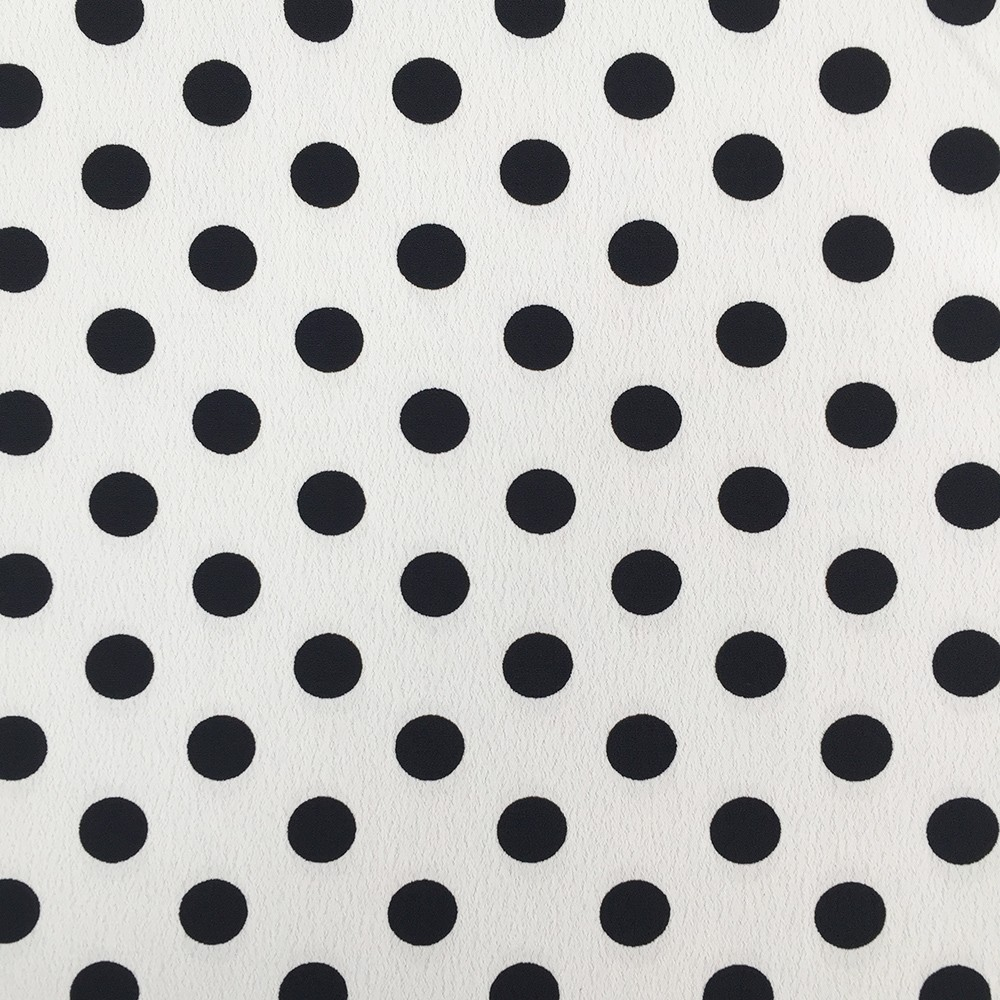 Zara Poly Morrocaine Ivory Base Black Spot