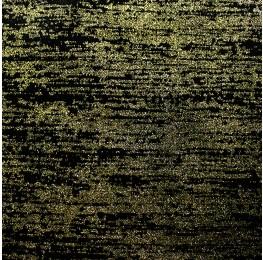 Span Velvet Glitter Black Gold