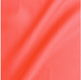 Apollo Satin Back Crepe Fluro Coral