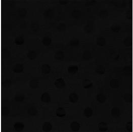 Apollo Satin Spot Jacquard Black