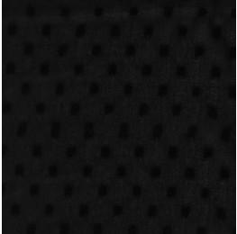 Chiffon Dobby Spot Black
