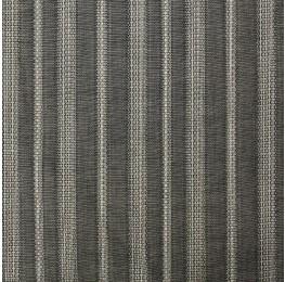 Cotton Border Stripe Black