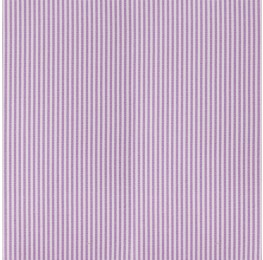 Cotton Poplin Narrow Stripe Purple