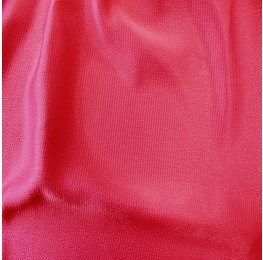 Heavy Bubble Satin Cerise