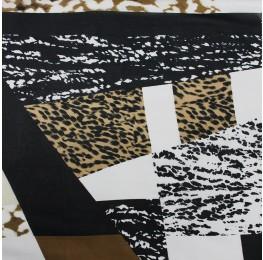 Hi Multi Chiffon Abstract Print