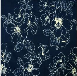 Hi Multi Chiffon Floral Blue Print