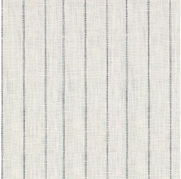 Linen Dotted Stripe White