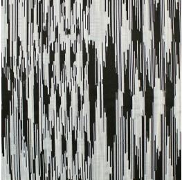 Monochrome Jacquard Black and White