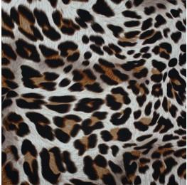 Posh Crinkle Leopard Print