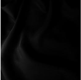 Satin Chiffon Black