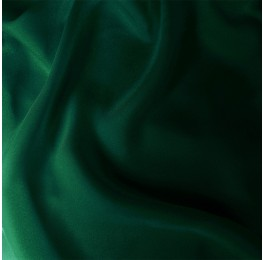 Satin Chiffon Bottle Green
