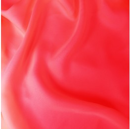 Satin Chiffon Dark Coral